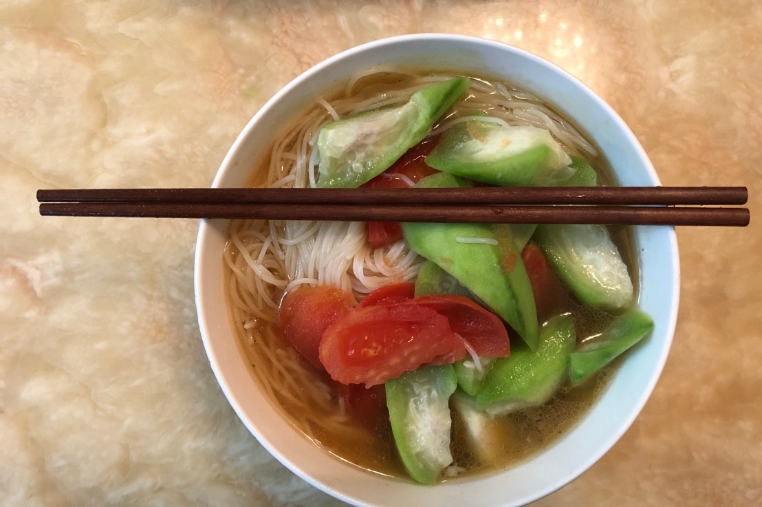 Healthy Vegetable Noodle Soup